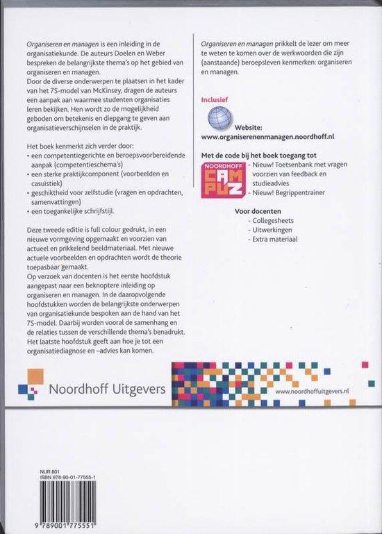 Organiseren & managen - Albert Doelen  