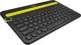 Logitech K480 - Draadloos Bluetooth Toetsenbord - Qwerty - Zwart