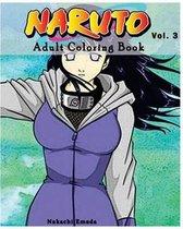 Naruto: Adult Coloring Book: Sketches Coloring Book Series (Vol.3)