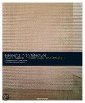 Materialen - elements in architecture