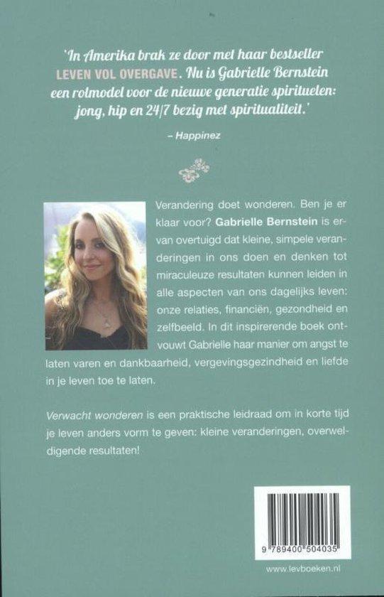 Verwacht wonderen - Gabrielle Bernstein | Fthsonline.com