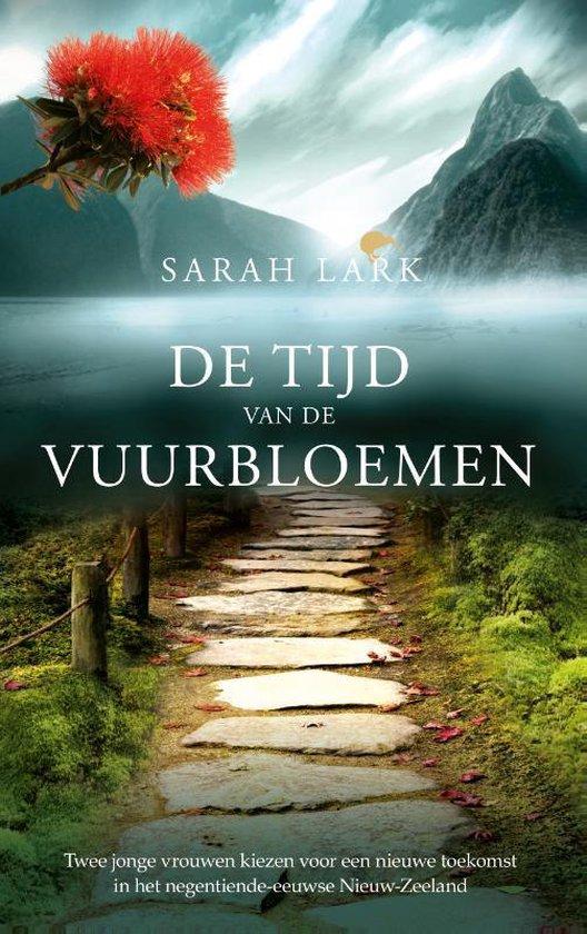Boek cover Nieuw-Zeeland: Rata Station 1 - De tijd van de vuurbloemen van Sarah Lark (Hardcover)