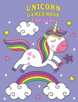 Unicorn Games Book for Kids
