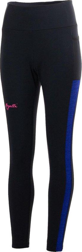 Rogelli Rogelli Cosmic Hardlooptight  Sportbroek - Maat S  - Vrouwen - Zwart/Blauw/Roze