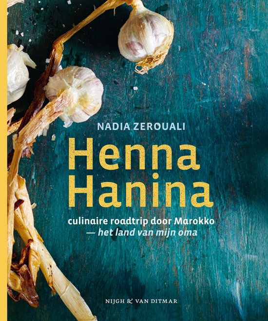 Boek cover Henna Hanina van Nadia Zerouali (Hardcover)