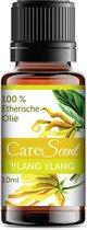 CareScent Ylang Ylang (Eerste Graad) Etherische Olie | Essentiële Olie voor Aromatherapie | Geurolie | Aroma Olie | Aroma Diffuser Olie | Ylang Ylang Olie - 10ml