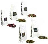 Dutch Tea Maestro - thee - losse thee pakket - thee set - thee cadeau pakket - 5 x 80 gram - origineel cadeau