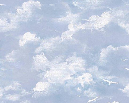 WOLKEN BEHANG - Blauw - AS Creation Il Decoro