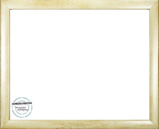 Homedecoration Colorado – Fotolijst – Fotomaat – 50 x 86 cm – Zandkleur geborsteld