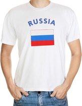 Wit t-shirt Rusland heren S