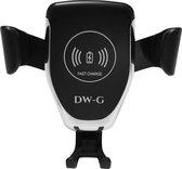 DW-G Draadloze Telefoon houder Auto / Draadloos Opladen QI  / Oplader / Ventilatierooster / Wireless Fast Charger / Universeel / Auto Houder / Snellader / Telefoonhouder / Telefoonlader / Ventilatie / 10W / 7.5W / 5W