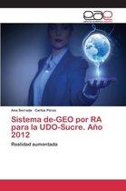 Sistema de-Geo Por Ra Para La Udo-Sucre. Ano 2012