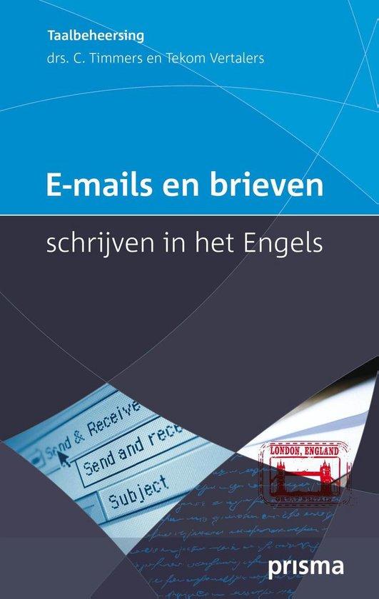 E-mails en brieven schrijven in het Engels - Corriejanne Timmers | Fthsonline.com