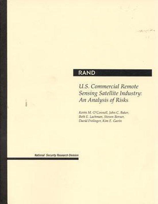 Boek cover U.S.Commercial Remote Sensing Satellite Industry van Kevin M. OConnell (Paperback)