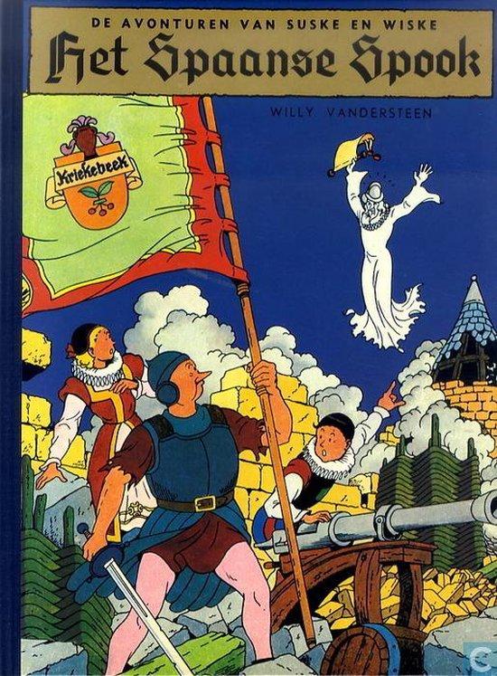 Suske en Wiske hardcover Het Spaanse spook - Willy Vandersteen |