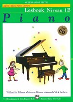 Boek cover Alfreds Basic Piano Library | Lesboek Niveau 1B + CD van Willard A. Palmer / Morton Manus