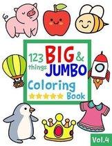 123 things BIG & JUMBO Coloring Book VOL.4