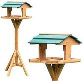 Vogel voederhuis - vogelhuis staand 30 x 30 x 116 cm