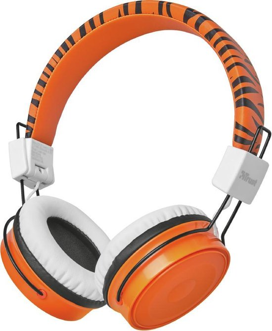 Trust Comi - Draadloze over-ear kinder koptelefoon - Oranje
