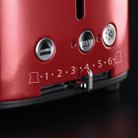 Russell Hobbs 21680-56 Retro Vintage - Broodrooster - Ribbon Red