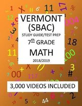 7th Grade VERMONT SBAC, 2019 MATH, Test Prep