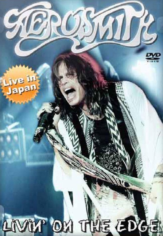 Cover van de film 'Aerosmith - Livin' On The Edge'