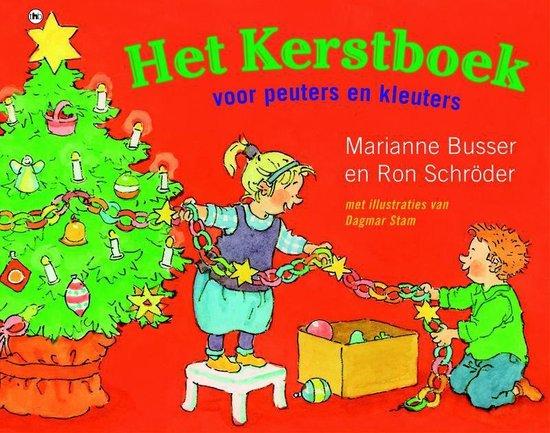 Boek cover Het Kerstboek voor peuters en kleuters van Marianne Busser