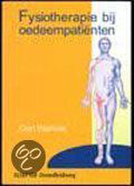 Fysiotherapie bij oedeempatienten - G. Walrave |