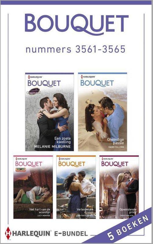 Bouquet e-bundel nummers 3561-3565, 5-in-1 - Melanie Milburne  