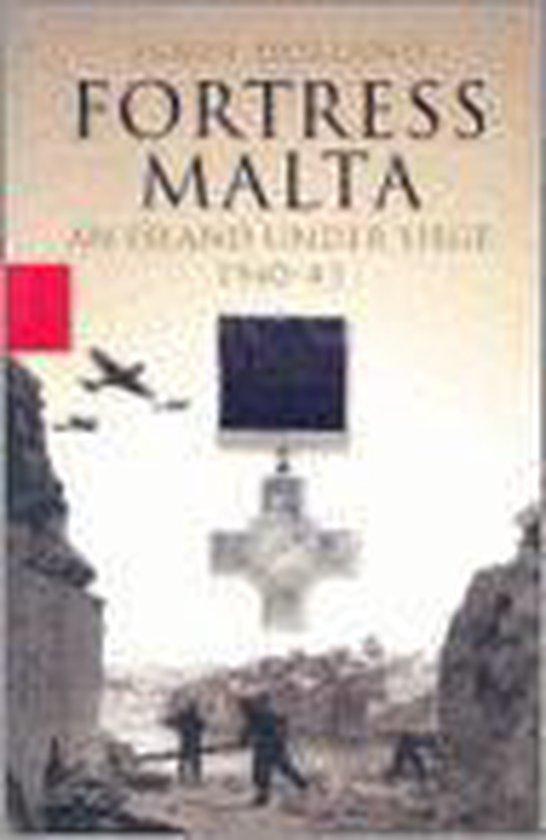Boek cover Fortress Malta van James Holland (Hardcover)