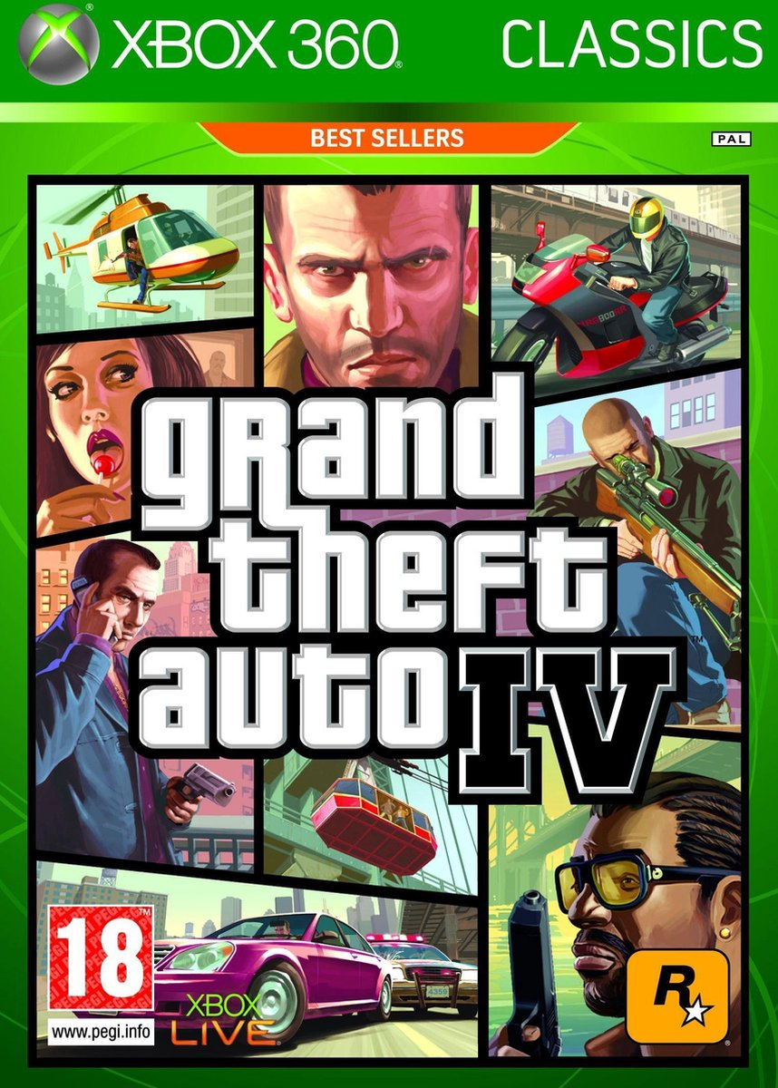 Grand Theft Auto IV (GTA IV) - Take Two