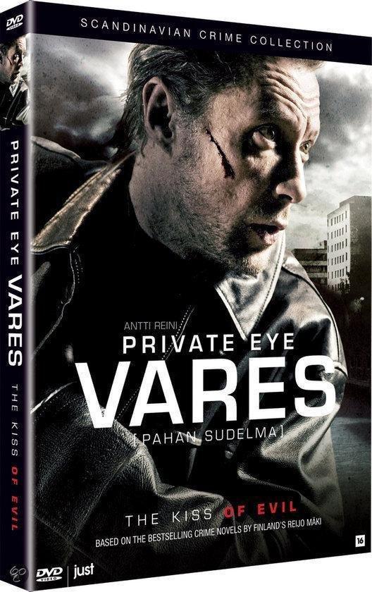 Cover van de film 'Private Eye Vares - The Kiss Of Evil'