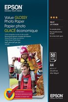 Epson Value Glossy Photo Paper A 4, 50 vel, 183 g S 400036