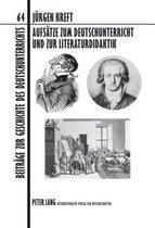 Aufsaetze Zum Deutschunterricht Und Zur Literaturdidaktik