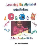 Learning the Alphabet - Colouring Book