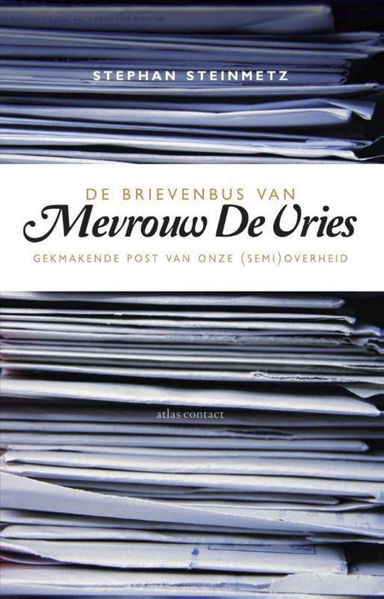 Boek cover De brievenbus van Mevrouw De Vries van Stephan Steinmetz (Paperback)