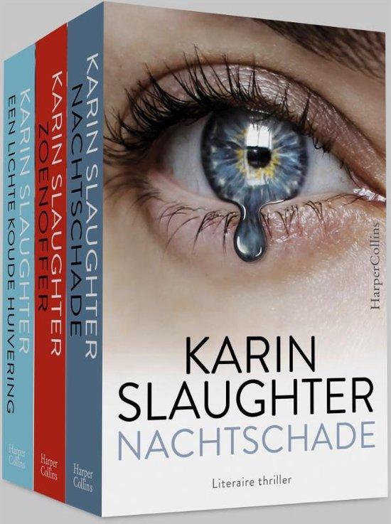 Pakket - Nachtschade ; Zoenoffer ; Een lichte koude huivering - Karin Slaughter  