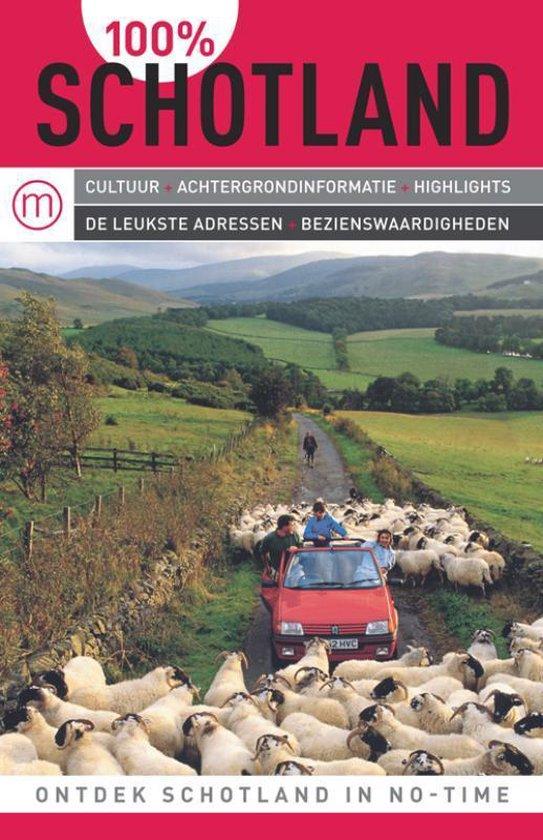 Cover van het boek '100%  / Schotland' van B. Nørum