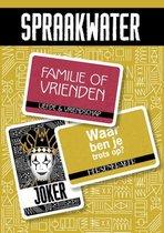 Boek cover Spraakwater, kaartspel van Ruud van den Belt (Onbekend)