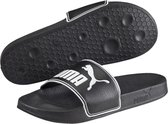 PUMA Leadcat Slippers Unisex - Black / White - Maat 47
