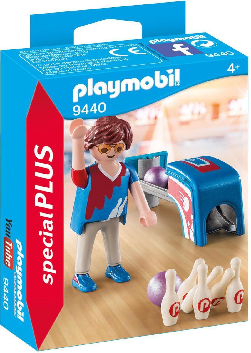PLAYMOBIL Bowlingspeler - 9440