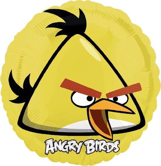 Angry Birds - Yellow Bird Folieballon - 46 cm
