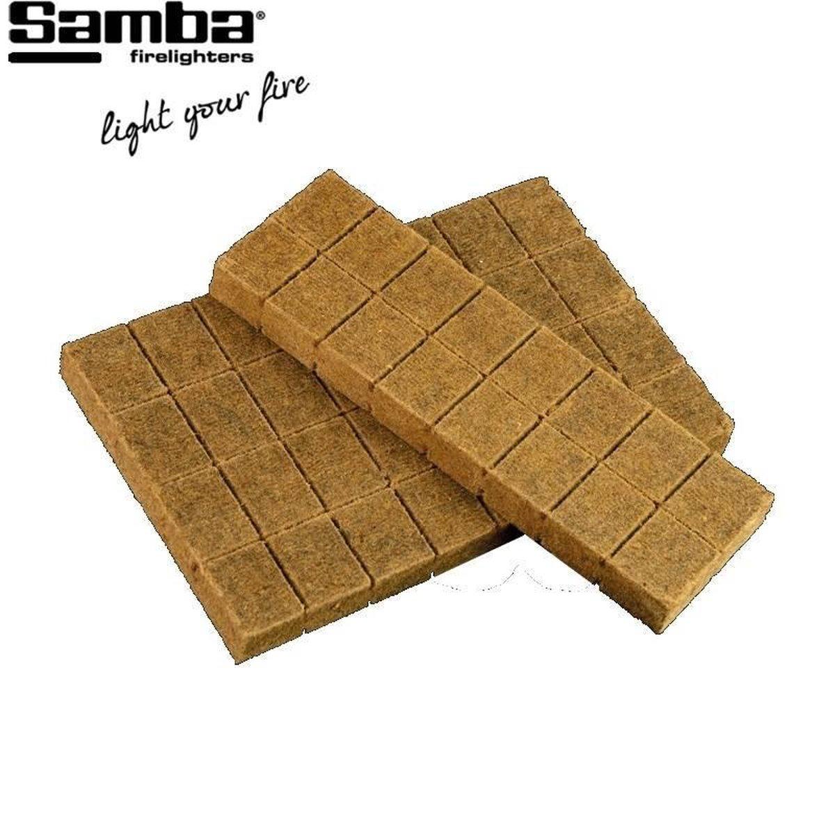 Samba Aanmaakblokjes Bruin (32 Stuks) - Milieuvriendelijk