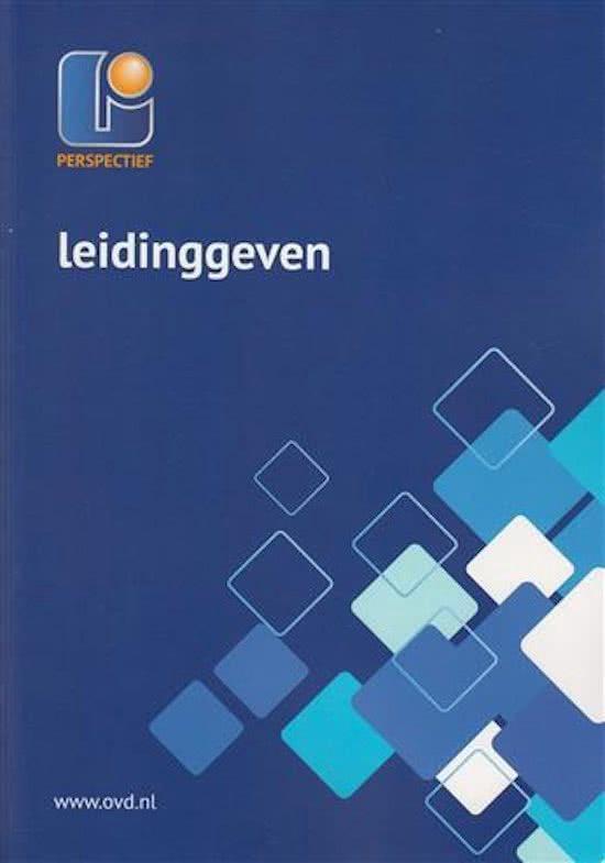 Leidinggeven MBO-LG-01 - Ovd Educatieve Uitgeverij |