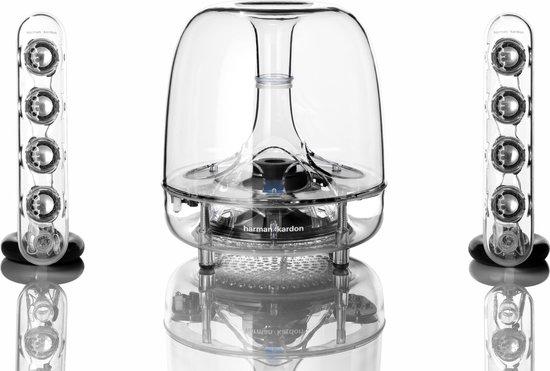 Harman Kardon SoundSticks Wireless - 2.1 speakerset met Bluetooth - Transparant