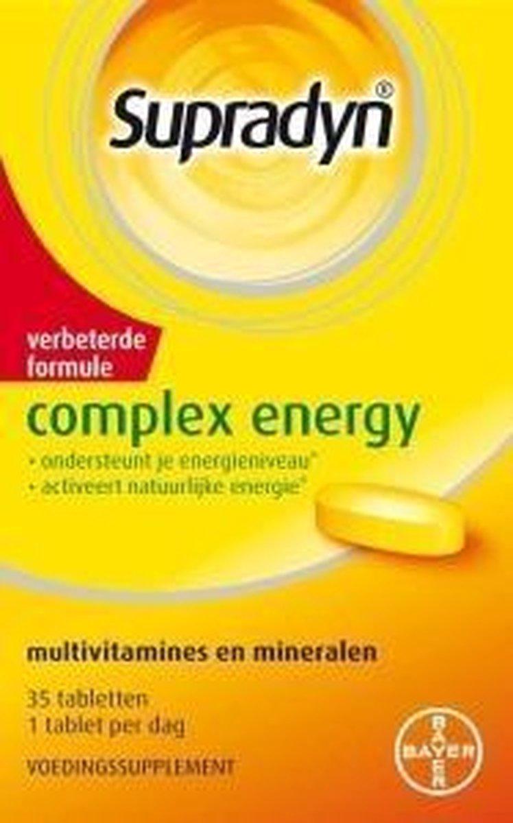 Supradyn Complex Energy - 35 Tabletten  - Multivitamine - Supradyn