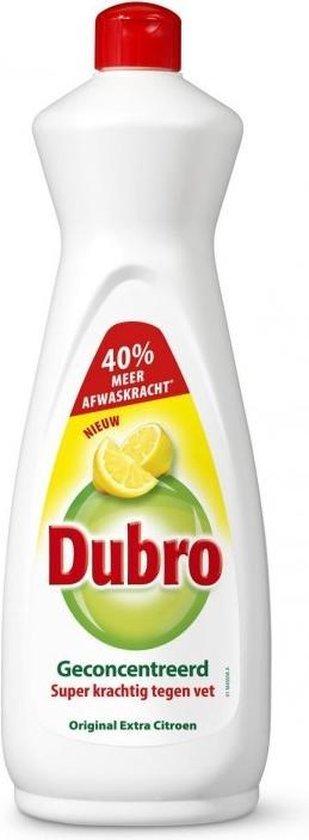 Afwasmiddel Dubro extra citroen 900 ml