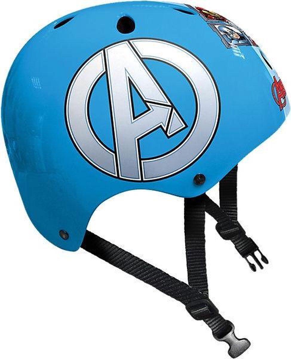 Marvel Skatehelm Avengers Blauw Maat 54/60 Cm