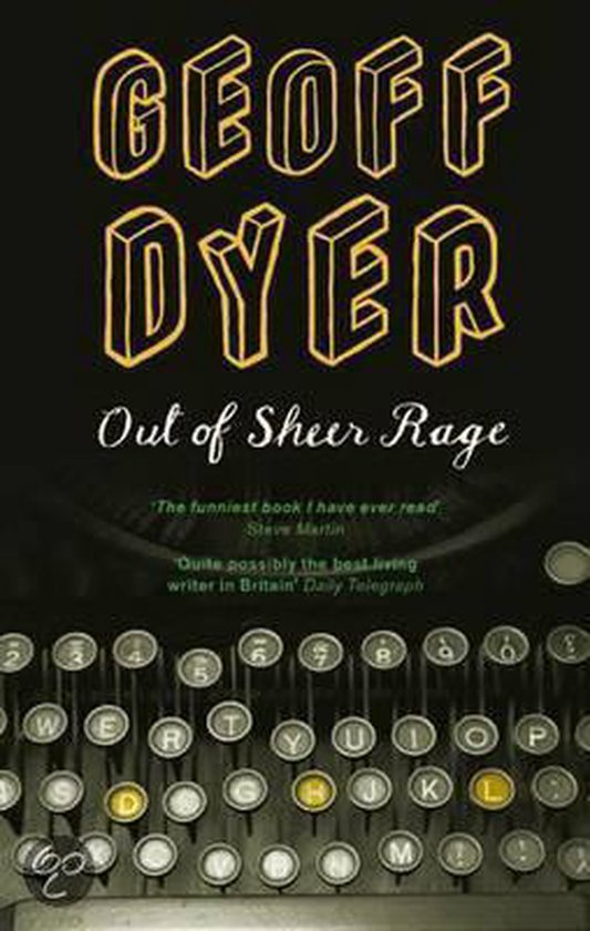 Boek cover Out of Sheer Rage van Geoff Dyer (Paperback)