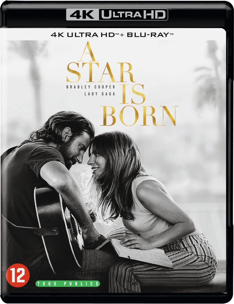 A Star Is Born (4K Ultra HD Blu-ray)-